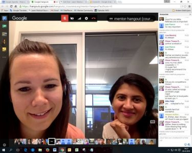 screenshot mentors hangout august 26 2016