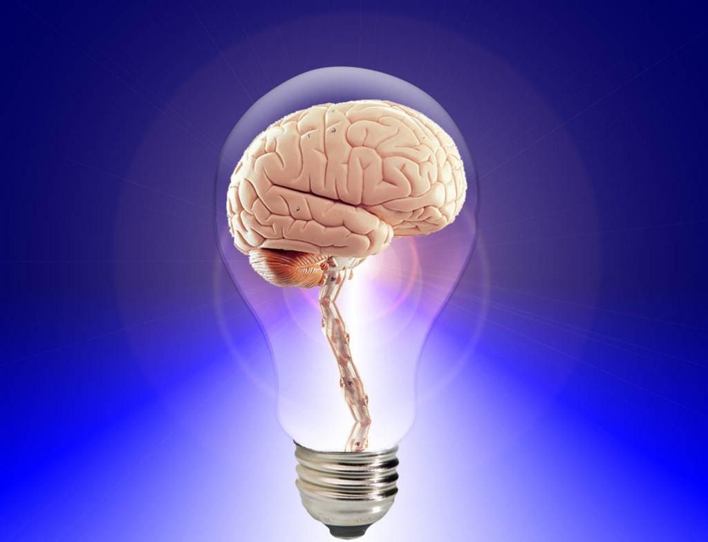 Shining brain. Source: Pixaby CC-0